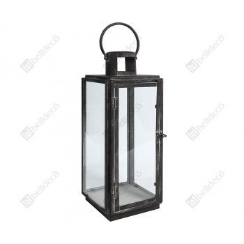 Lampion prosty 1A Nero